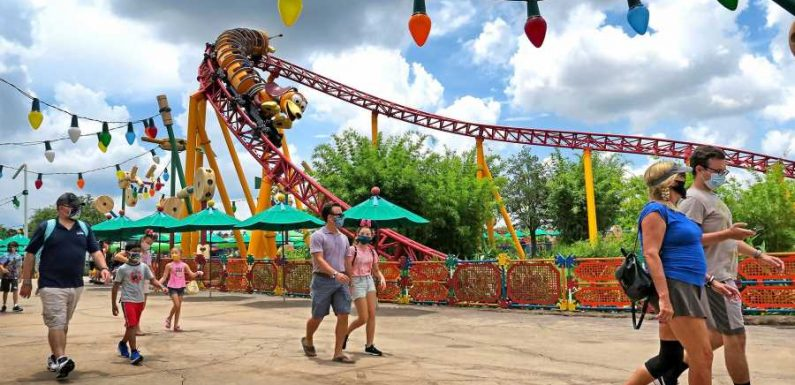 Certain Rides at Walt Disney World Cleared to Board at Full Capacity