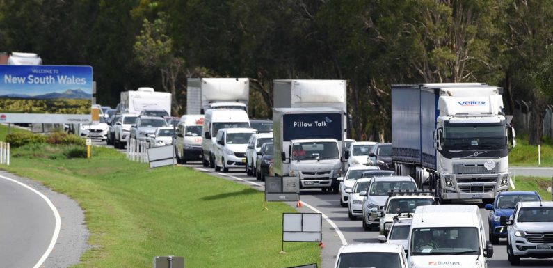 Police 'frustrated' as border chaos continues