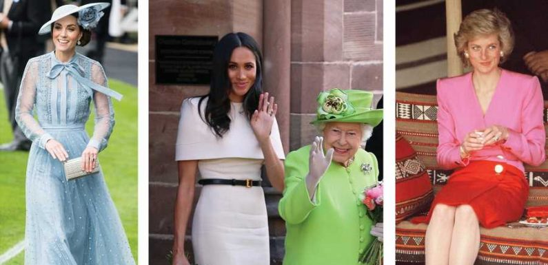 This New Book on Kate, Meghan, Diana, and the Queen's Style Is the Best Gift for Royal Fans