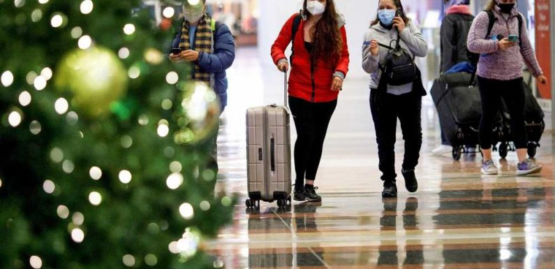 Day Before Christmas Eve Saw Largest Number of Airplane Travelers Since March