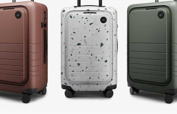 This Is the Most Spacious and Convenient Hardside Suitcase I've Ever Had —and It's on Sale