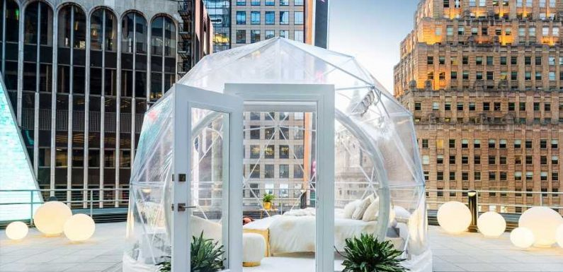 You Can Sleep Under the Times Square Ball With This Airbnb Stay Hosted by Mariah Carey