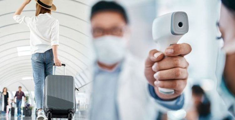UK arrivals may need to show proof of negative covid test or face £500 fine from next week