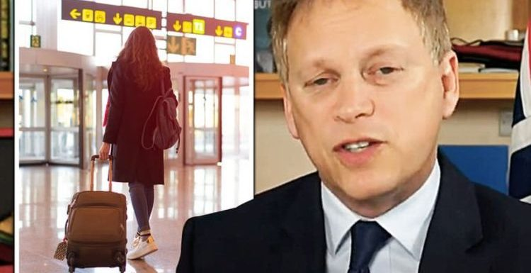 Grant Shapps confirms 'strict' 'specific' testing rule for arrivals to protect vaccine