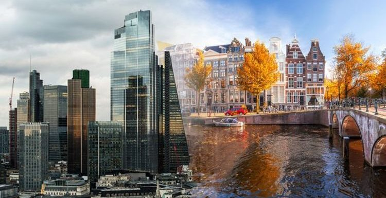 Amsterdam named 'best city to live a happy life' with London snubbed as 'unhealthy'
