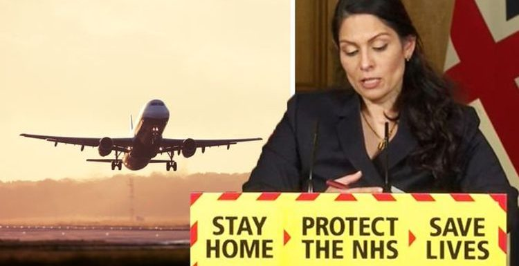 Holiday warning: 'Too early to speculate' says Priti Patel – Britons urged not to travel