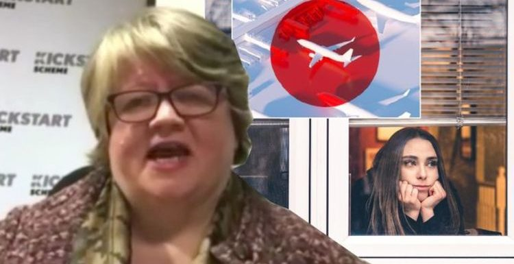 Thérèse Coffey defends travel 'restrictions' – warns Britons could face 'further measures'