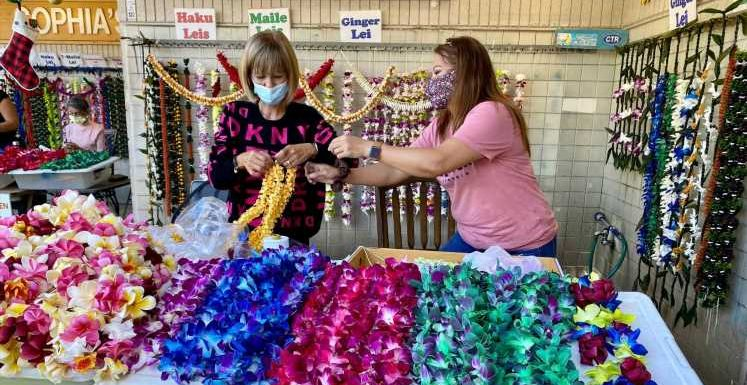COVID-19 has devastated Hawaii's lei industry. Generations-old shops are clawing back.