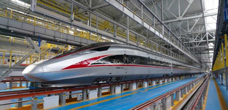 China Introduces Bullet Trains That Can Travel Over 200 MPH in Subzero Temperatures