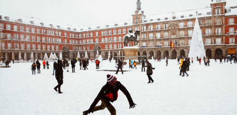 Snowstorm in Madrid: How Residents Are Rallying After the Blizzard of the Century