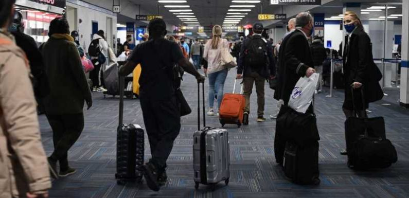Despite CDC warnings, millions of people flew over the holidays