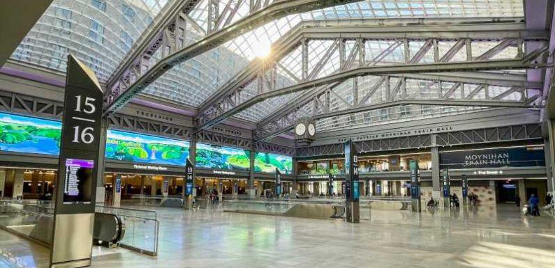 Moynihan Train Hall brings modernity to NYC's Penn Station with skylights galore