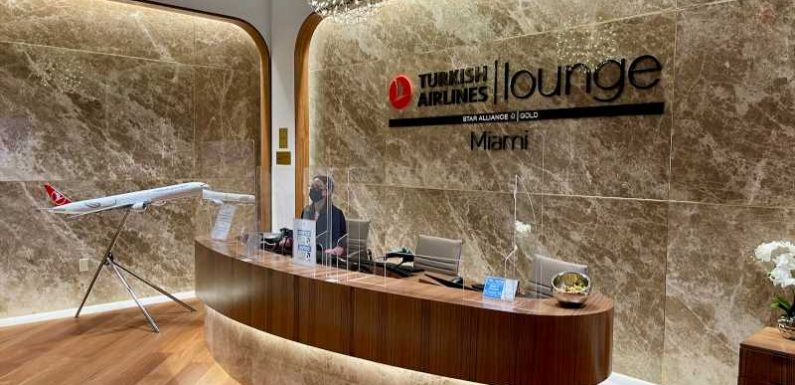 See inside Miami's brand-new Turkish Airlines lounge that accepts Priority Pass
