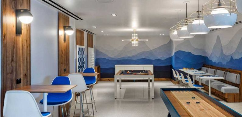 AmEx's New Denver Centurion Lounge Takes Inspiration from the Rocky Mountains