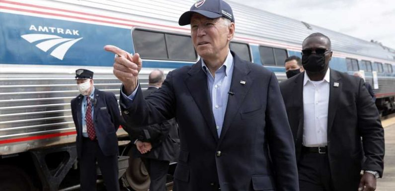 Joe Biden Commuted on Amtrak for Years — Now He Will Ride the Train to His Inauguration