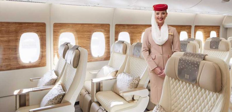 Emirates Launches New Premium Economy Section That Comes With Serious Perks
