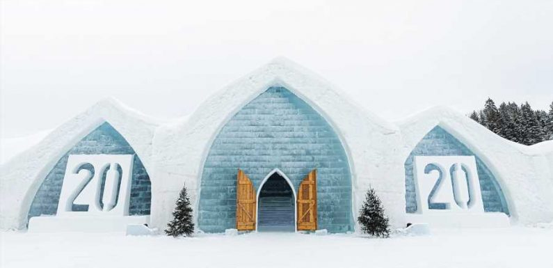 Canada's Ice Hotel Is a Winter Wonderland — and You Can Explore It From Home