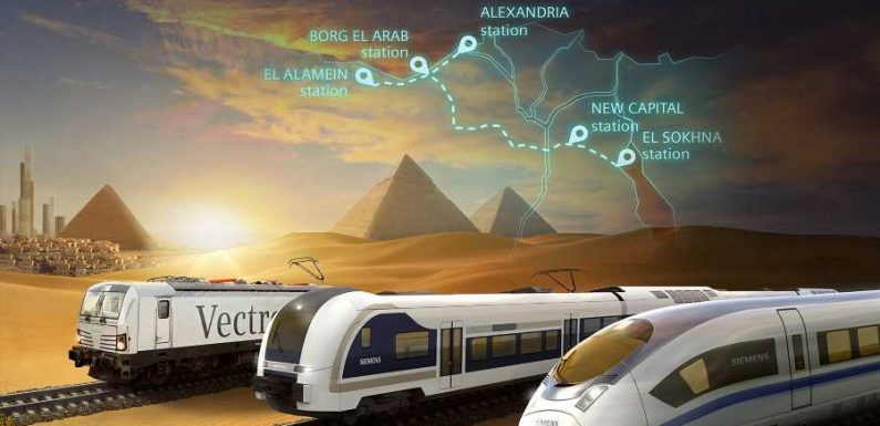 Egypt's First High-speed Train Line Will Connect the Red Sea to the Mediterranean