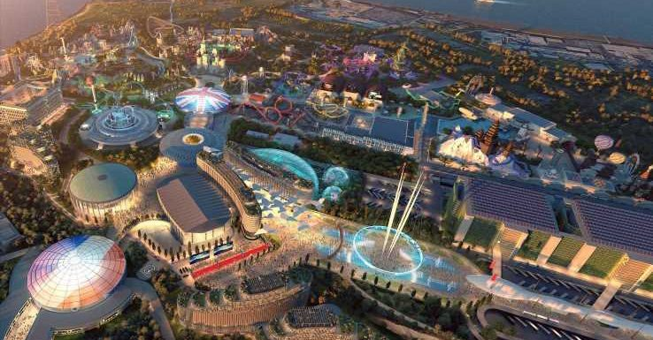 New picture of £3.5bn London Resort theme park revealed