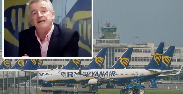 Ryanair boss predicts Britons will return 'to the beaches of Europe' for the summer