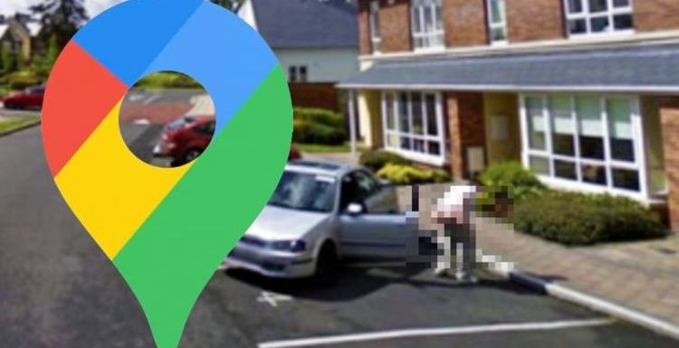 Google Maps Street View: Cheeky man spotted giving camera a lewd surprise