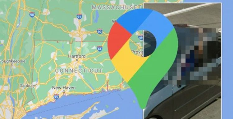 Google Maps Street View: Man caught during explicit moment while driving