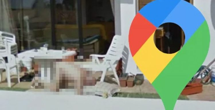 Google Maps Street View: Naked man caught on camera in precarious position