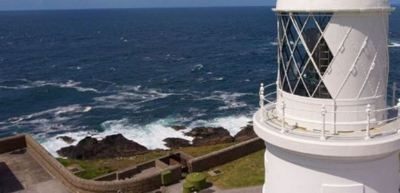 Spot seals at on your UK staycation at this Cornwall lighthouse with ocean views