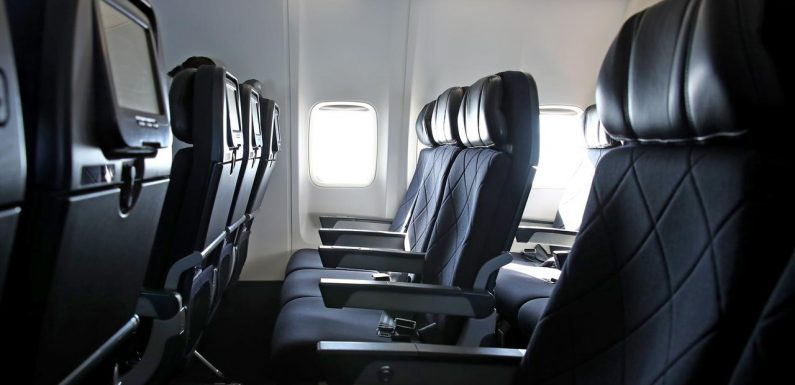 International passenger flights into Victoria paused