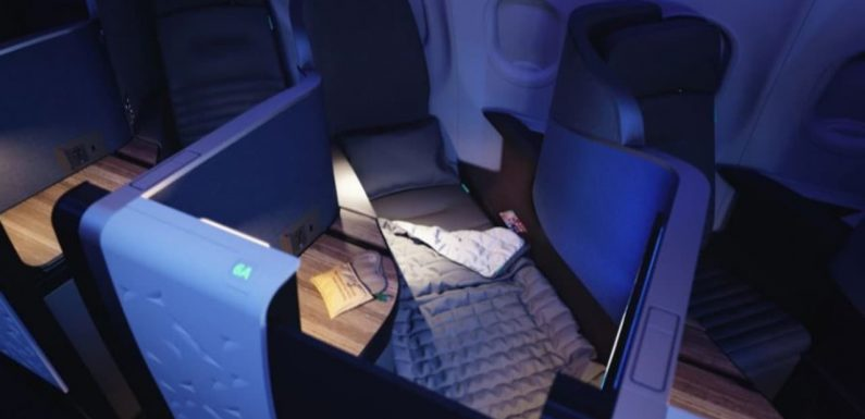 Jetblue launches largest business class plane bed on A321neos