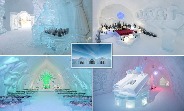 Brrr-illiant! The 2021 version of the Canadian ice hotel