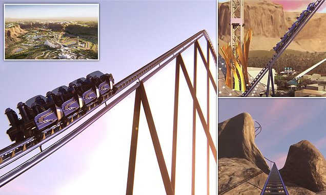 Saudi Arabia's 155mph roller coaster now in 'design phase'