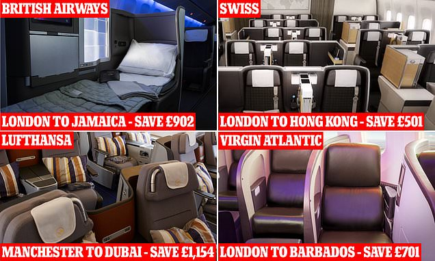 Airlines are slashing the cost of their business-class seats