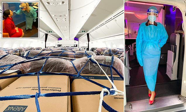 Virgin Atlantic stewardess reveals what pandemic life is like for crew