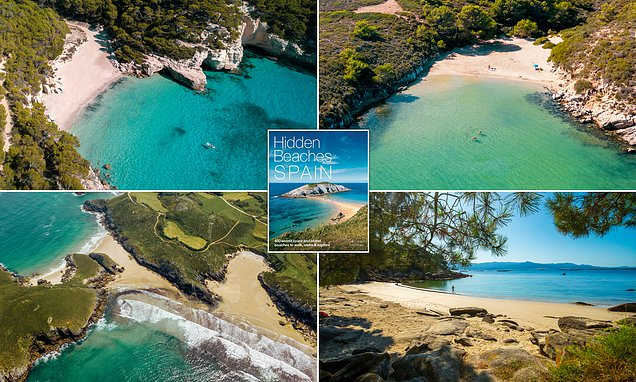 The best hidden beaches in Spain revealed in amazing book
