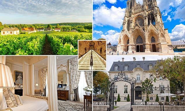 There's nowhere better to start a party than the home of champagne