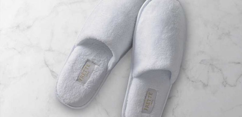 Here's Where to Shop the Most Luxurious Hotel Slippers Online
