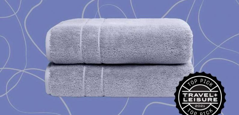 These Fluffy Bath Towels Are the Spa-quality Upgrade Your Bathroom Needs