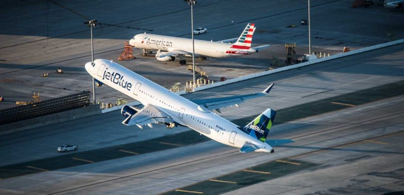 Frenemies American, JetBlue will ease connections at JFK, but scuffle in South Florida