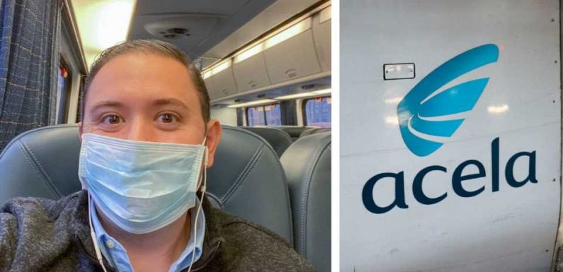 I rode on Amtrak's Acela for the first time and while it wasn't the high-speed journey I expected, I can't wait to see what's next