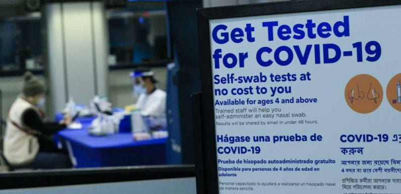 Biden Administration Says Mandatory COVID-19 Testing for Domestic Travel Is an 'Active Conversation'