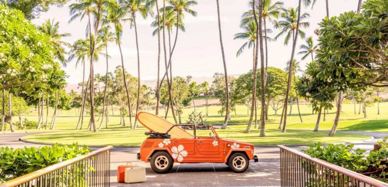 Gray Malin's Newest Series Captures the Spirit of a Historic Hawaiian Hotel