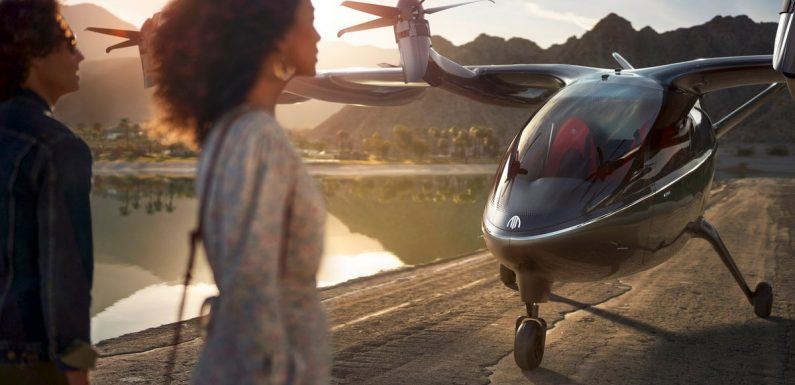 United buys 200 air taxis to shuttle passengers to airports