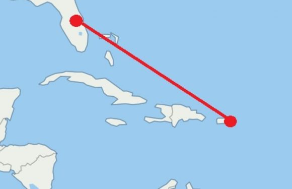 Surprise route now the busiest flight path in the world