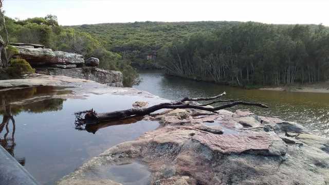 Photo reveals waterfall's hidden dangers