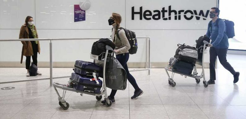 UK Will Require Travelers From COVID-19 Hot Spots to Quarantine in a Hotel Starting Feb. 15