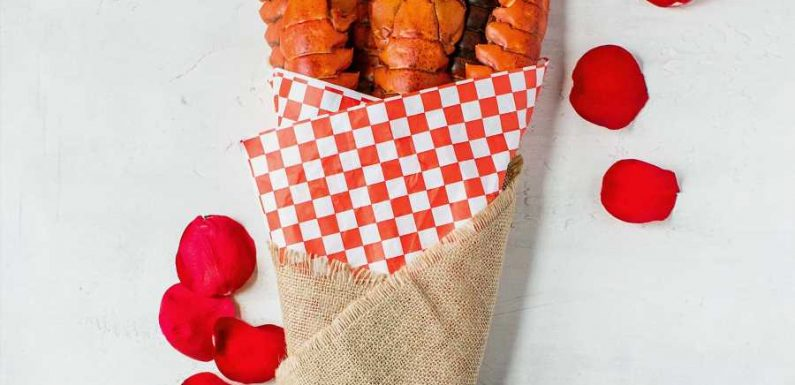 This Maine Lobster Tail Bouquet Is One Shell of a Valentine's Day Gift