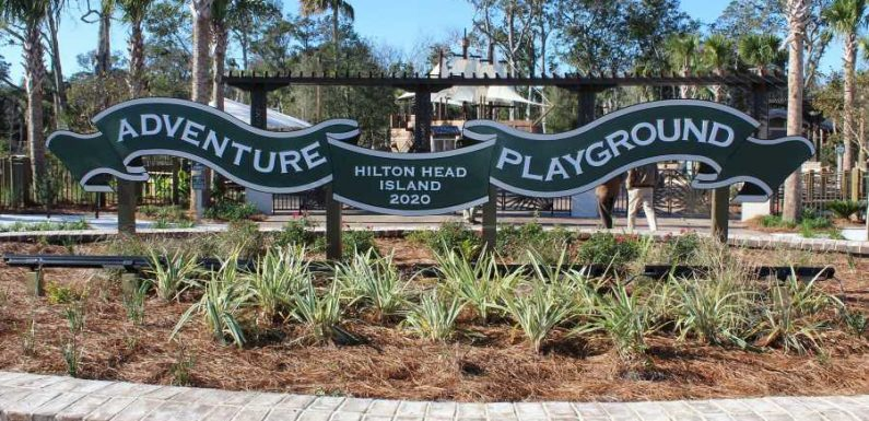 Hilton Head Island's Newest Park Has an Epic Adventure Playground Kids Will Love