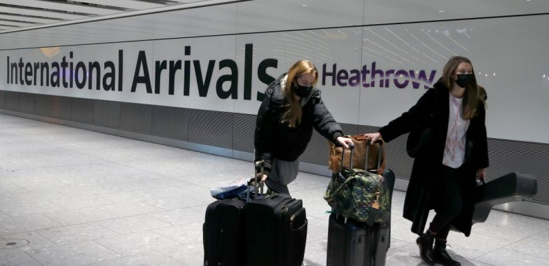 The 33 high risk countries where new hotel quarantine rules apply