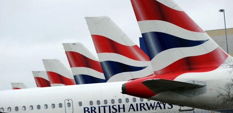British Airways travellers can buy £33 rapid coronavirus tests to take abroad